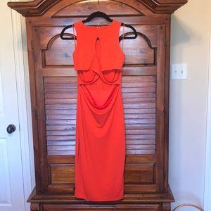 Dance&Marvel Orange Dress